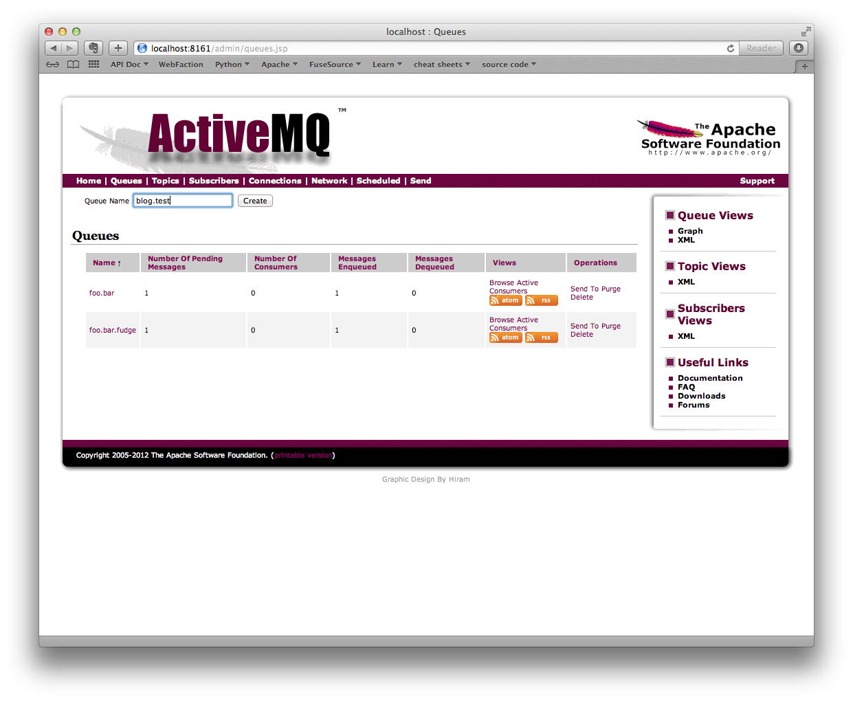 HawtIO + ActiveMQ – Software Blog